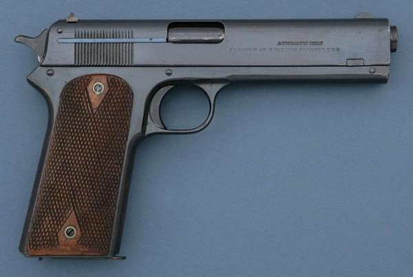 Colt Model 1905 self-loading pistol, caliber .45 ACP