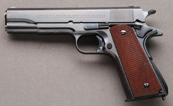 пистолет Colt Government Model калибр .45 ACP