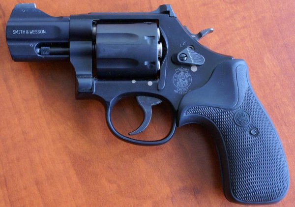 Револьвер Smith & Wesson Model 386 Night Guard