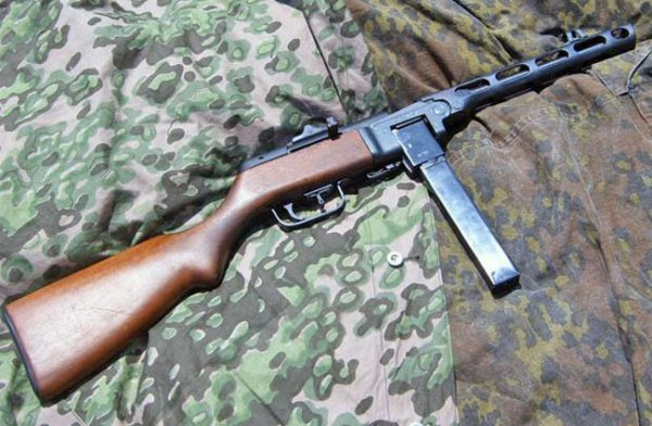 MP41(r) - captured and adapt for 9x19 PPSh-41