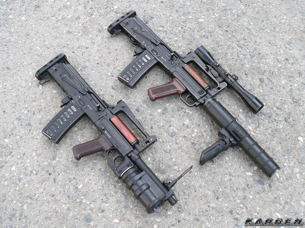 Автоматы ОЦ-14 Гроза / OC-14 Groza 9mm Assault Rifle