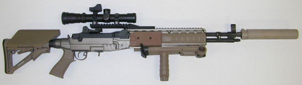 Штурмовая винтовка Mk.14 Mod.0 Enchanced Battle rifle - US Navy SEAL
