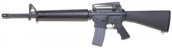 U.S. Colt M16A4 Assault Rifle with Picatinny rail