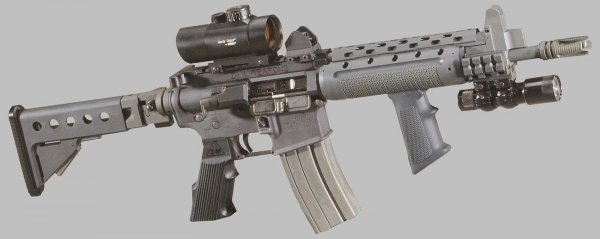 Z-M Weapons LR-300 Tactical Assault Rifle with Red Dot scope