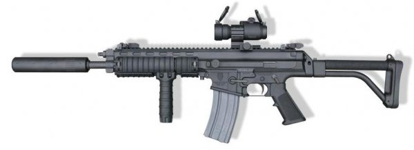 U.S. Tactical Robarm XCR Standard Assault Rifle