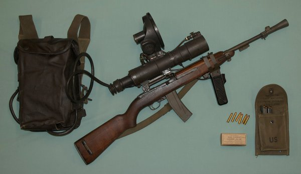 M3 Carbine with infrared scope