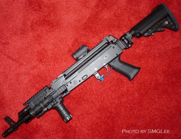 Самозарядный карабин Krebs Custom AK